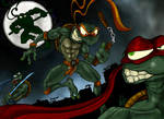 TMNT tribute by meliss by Gmeliss