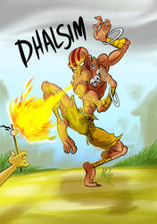 Dhalsim by Gmeliss