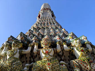 Temple in Thailand by ryan7994