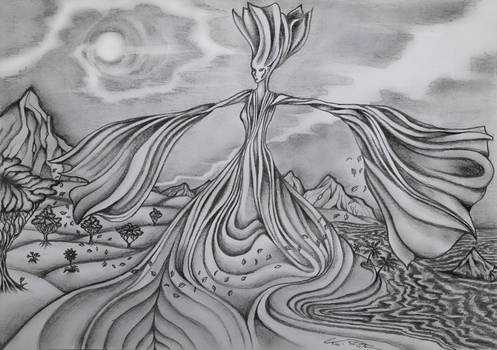 The Dance (black/white)