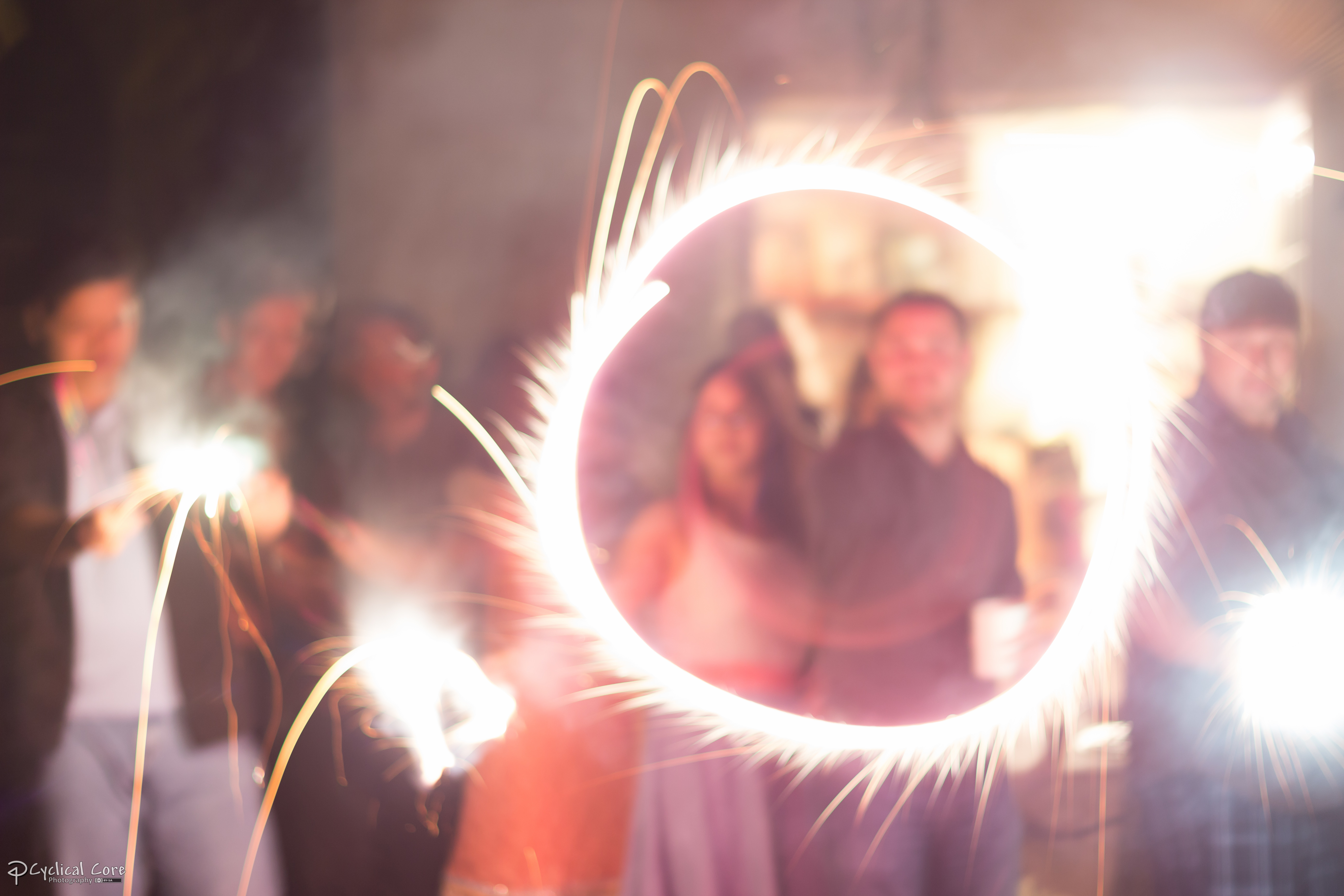 Diwali Sparkler Circle by LordMajestros