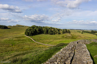 Housesteads Roman Fort - Hadrian's Wall by CyclicalCore