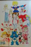 80s/90s Girl Cartoons