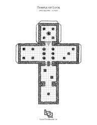 Monday Map - Temple of Luck
