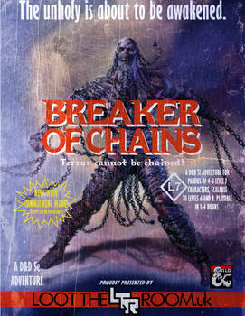 Breaker of Chains - Adventure Cover