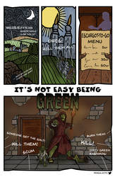 It's Not Easy Being Green - Page 1