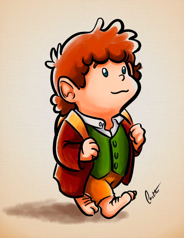 Fanart - Bilbo Baggins by OCarlitos