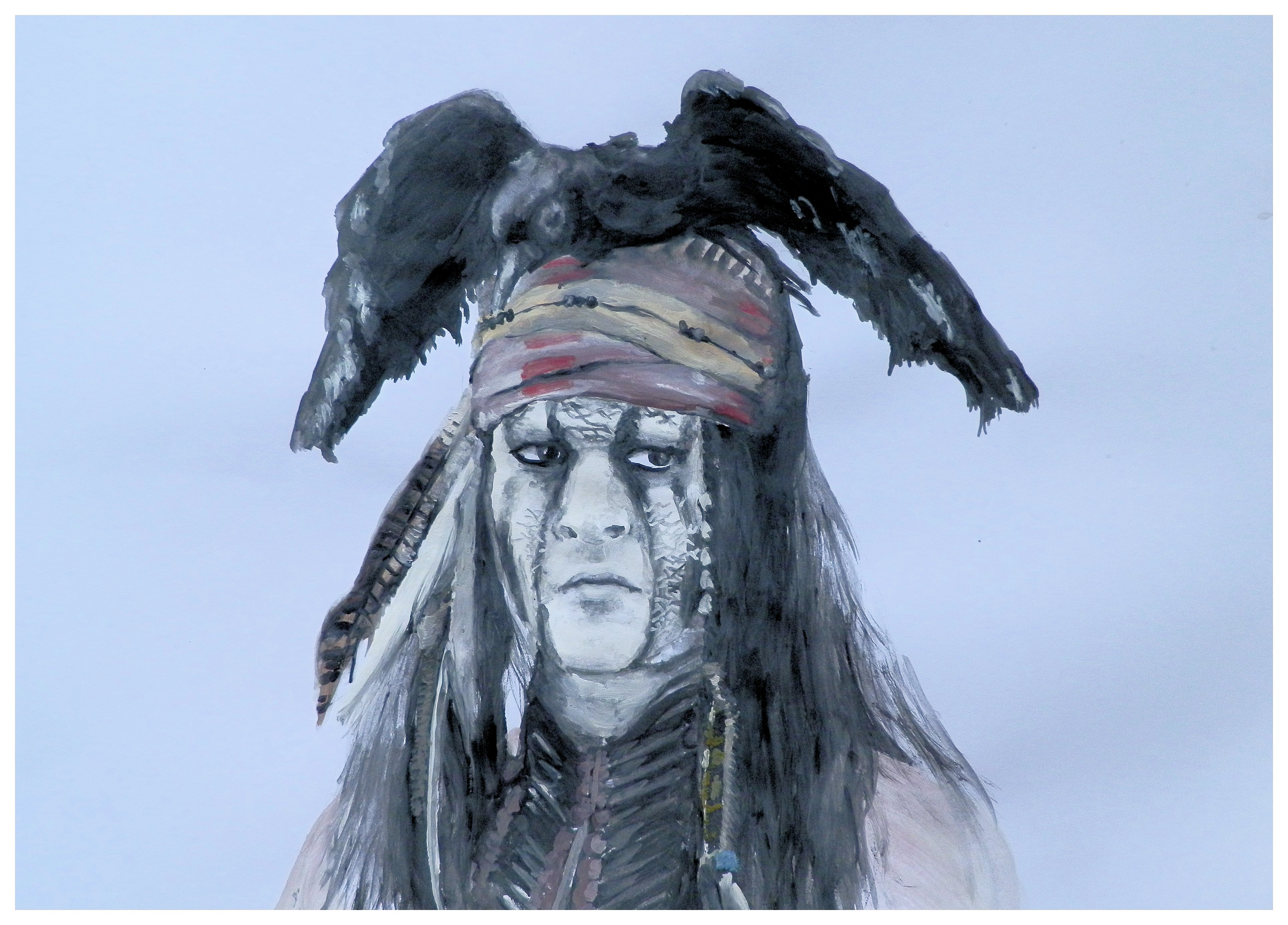 Johnny Depp - Tonto by Bubuka812