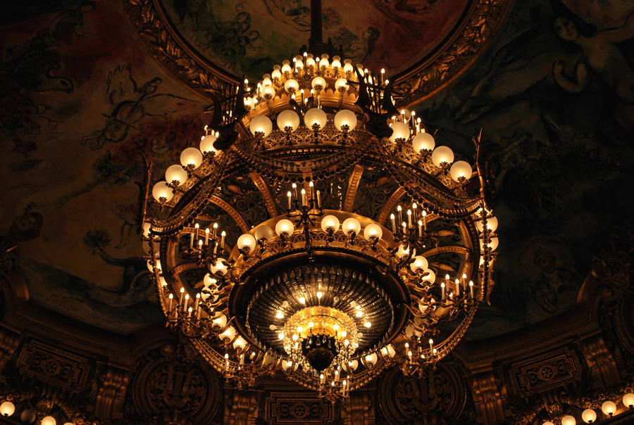 Palais garnier chandelier by lady vetinari on deviantart palais garnier chandelier by lady vetinari aloadofball Images