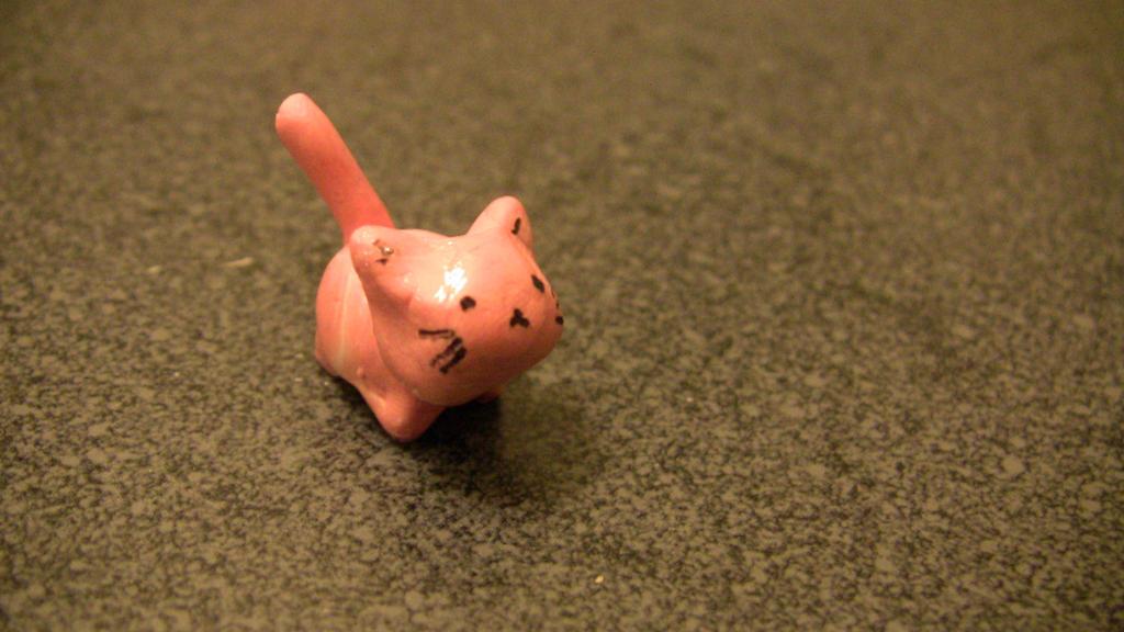 kawaii cat by dreamyblackcats