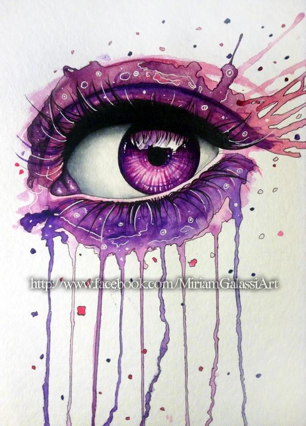 Purple Eye by DeadOceans