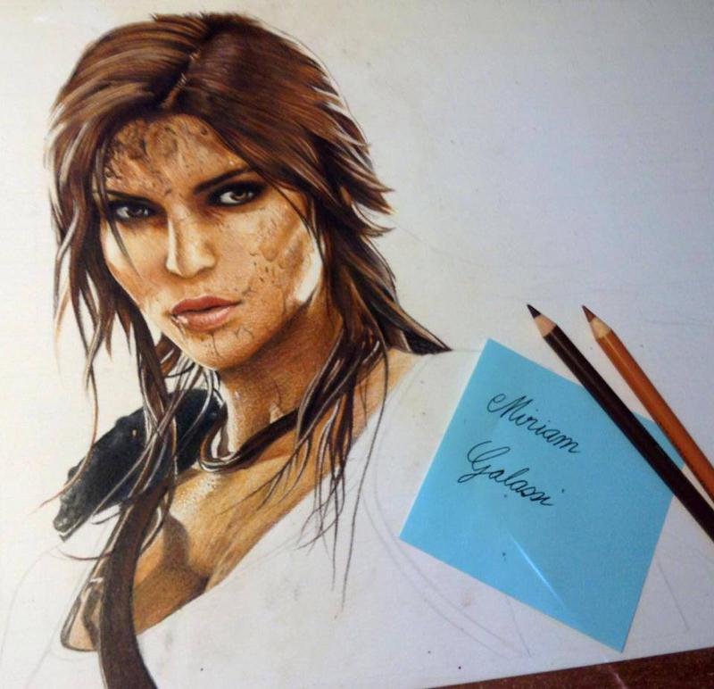 Lara Croft WIP by DeadOceans