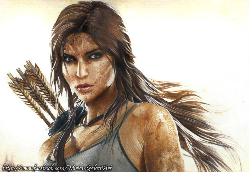 Lara Croft 2013 by DeadOceans