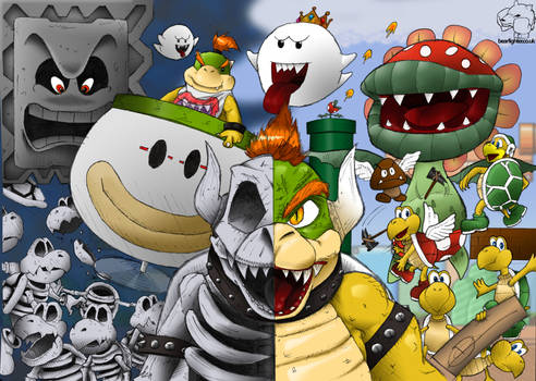 Bowser's Army ::Coloured::