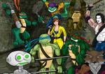 TMNT Heroes :: Coloured ::