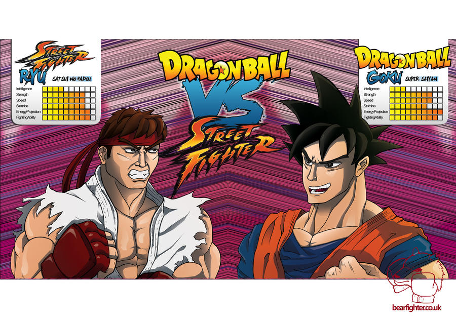 dbz vs street fighter - photo #14