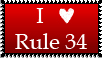 Stamp - Rule 34 by Fulcrumisthebomb
