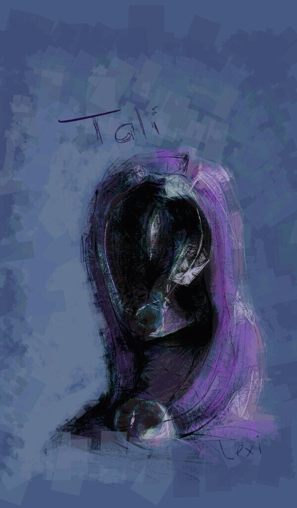 ME: Tali sketch by Fulcrumisthebomb