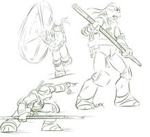TMNT: More Donnie sketches