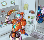 Commission: Rung and Ultra Magnus