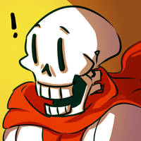 Undertale: Papyrus Icon (free to use) by Fulcrumisthebomb
