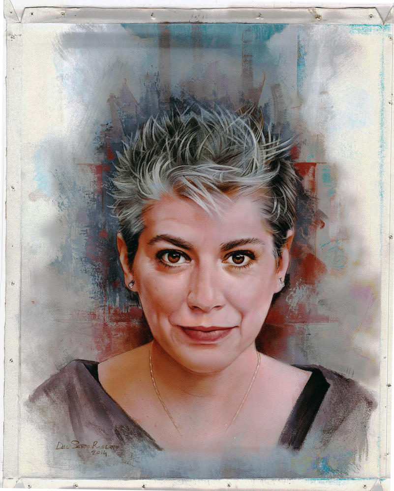 commissioned woman portrait by RobertoDS