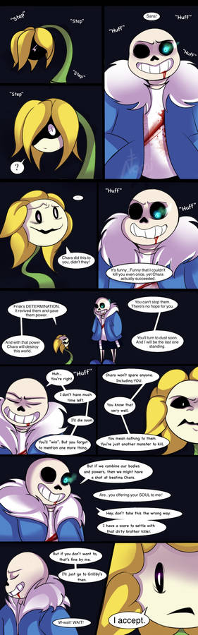 UT-Sneered the color blue Page 1