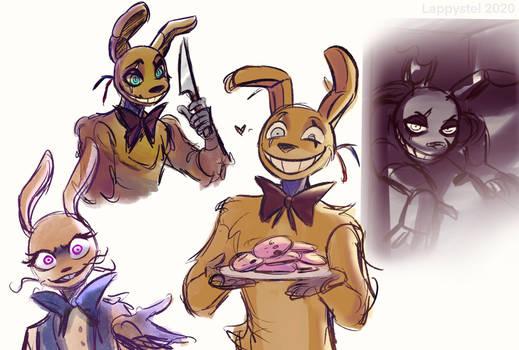 Evil Rabbit Man