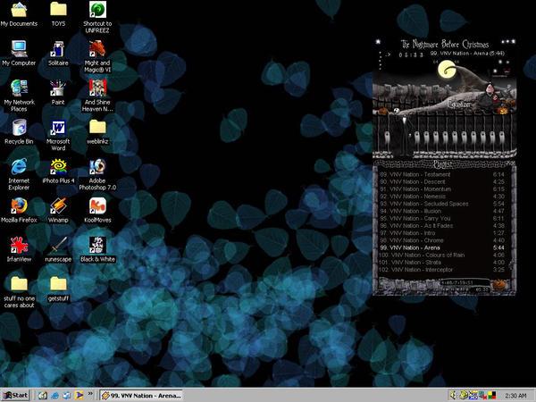 generic photoshop desktop view