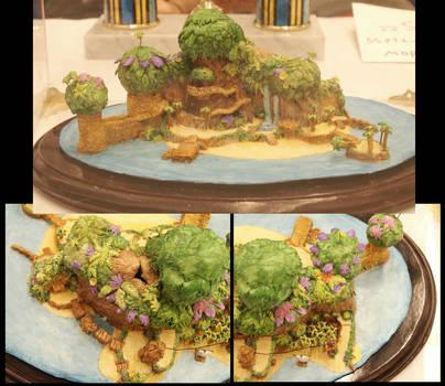 Destiny Island model - view 3 by ShiningamiMaxwell