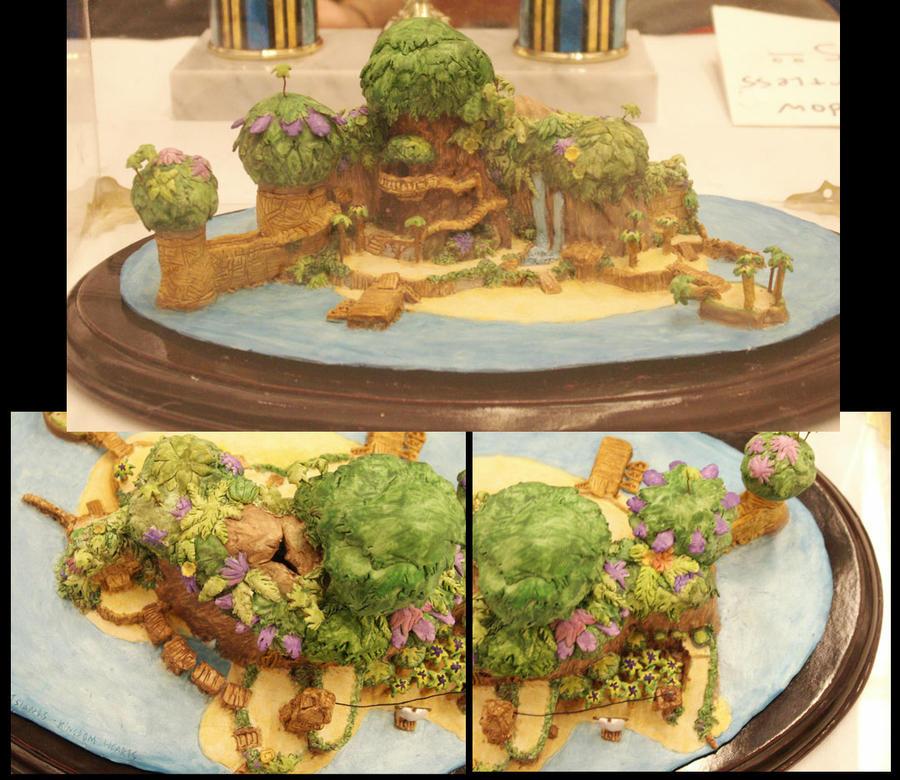Destiny Island model - view 3