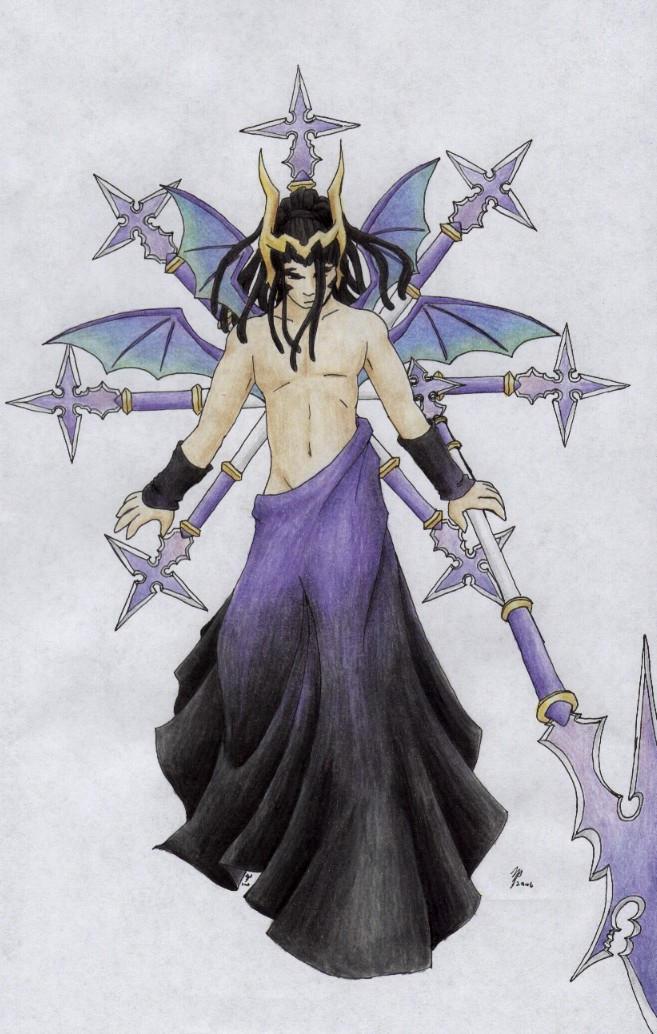 Xaldin: God of the Spear by ShiningamiMaxwell