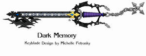 Dark Memory keyblade