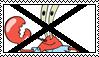 Anti Mr. Krabs Stamp by ArtRock15