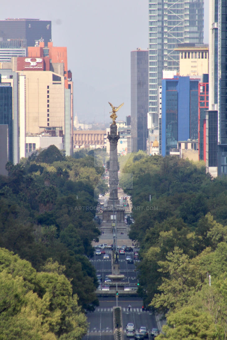 Angel of Independence  by ArtRock15