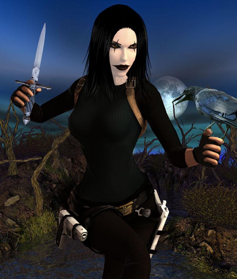 Resultado de imagen de lara croft crow