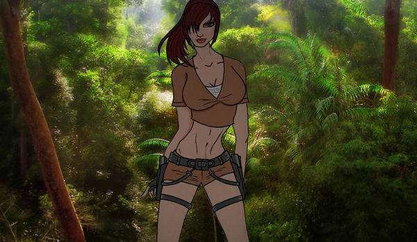 Tomb Raider Legend by AngelTrent