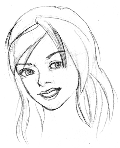 how to draw a manga girl nose