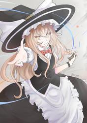 Touhou project - Kirisame Marisa by salgatanas