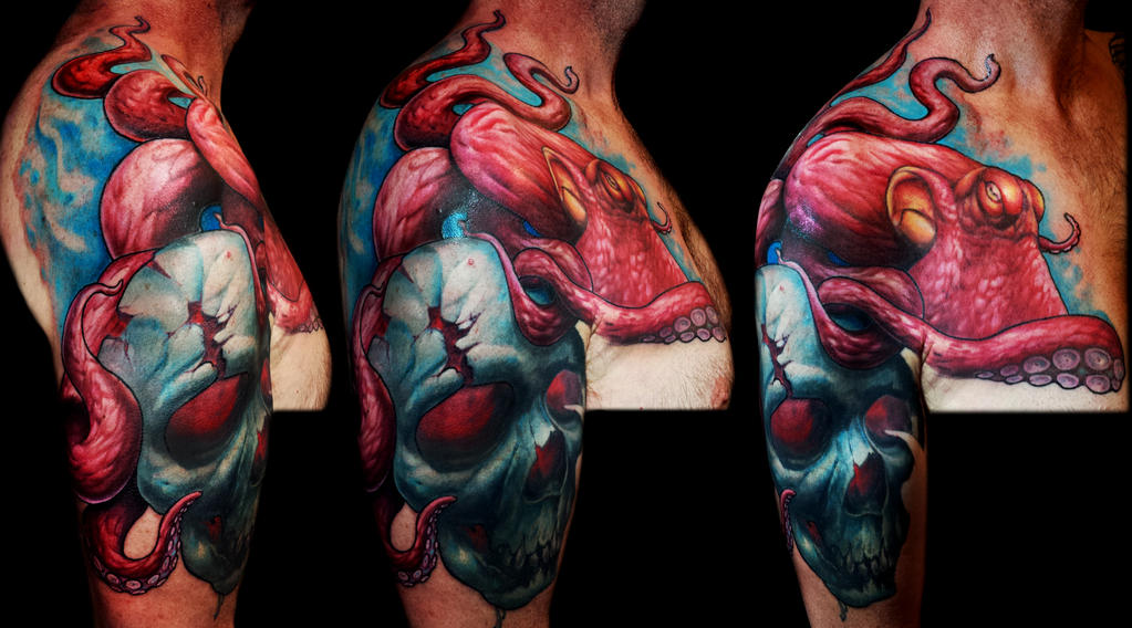 Octopus Sleeve by DanielPokorny