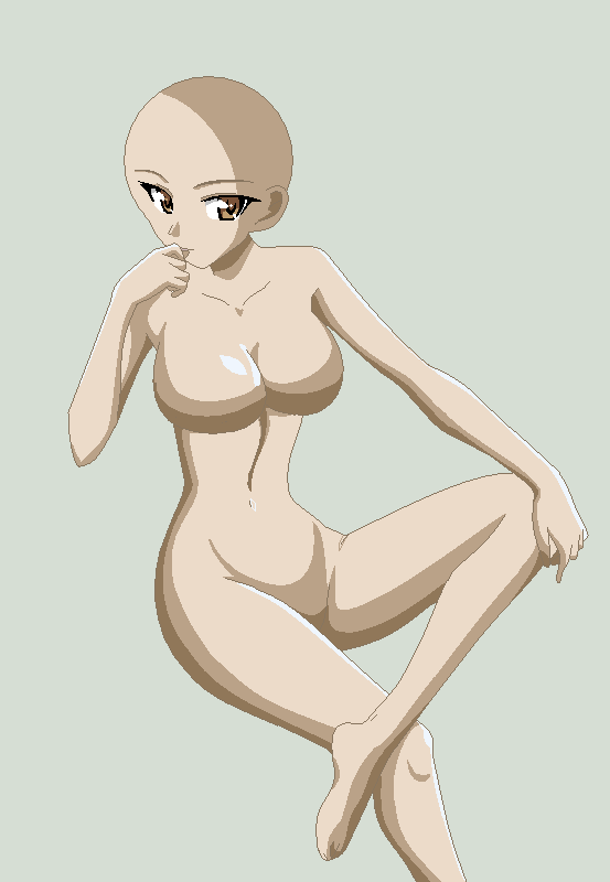girl sitting base 26 by Incognito-77 on DeviantArt