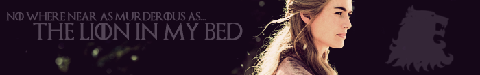 Banner Strip - Cersi by blackhavikgraphics