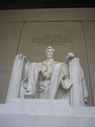 Lincoln Statue by Wonderdyke-Stock