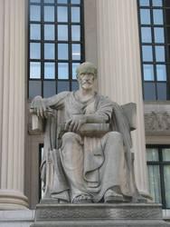 Philosopher Statue by Wonderdyke-Stock