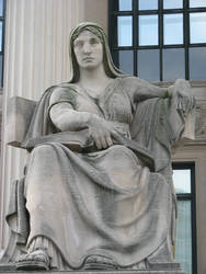 Philosopher Statue II by Wonderdyke-Stock