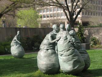 Strange Statues by Wonderdyke-Stock