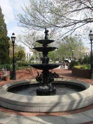 Water Fountain by Wonderdyke-Stock