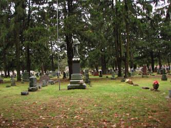 Graveyard I by Wonderdyke-Stock