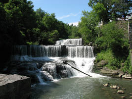 Waterfalls I by Wonderdyke-Stock