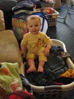 Baby in the Basket by Wonderdyke-Stock